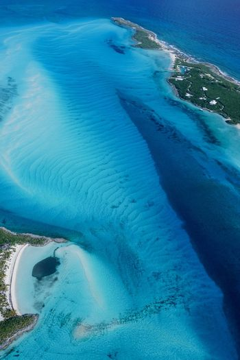 Little Halls Pond Cay Tropical Nature_collection Aerial Shot Seascape Bahamas Exuma Cays Aerial Photography Beauty In Nature Water Beauty In Nature Sea Nature Land Blue Tranquility Scenics - Nature High Angle View No People Day Tranquil Scene Beach Outdoors Idyllic Remote