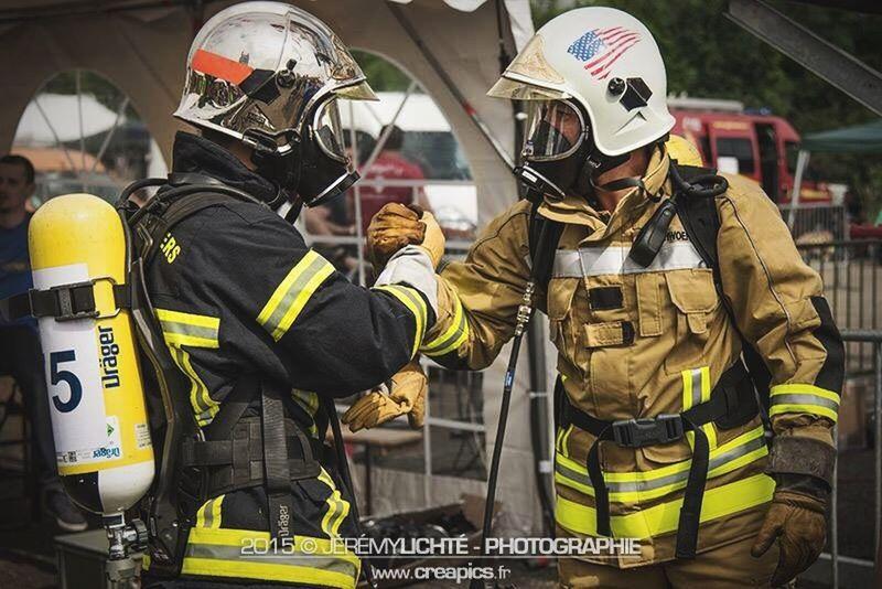 Fraternité! Firefighter Combat Challenge 2015 Strasbourg. Strasbourg Alsace Nikon Sapeurspompiers Firefighter Reportage France