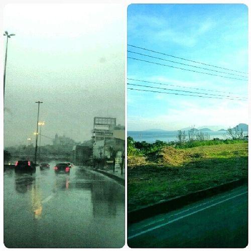 Estrada hoje X Estrada ontem