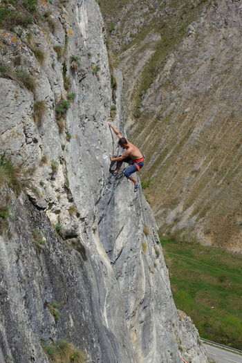 Climber Activity Adventure Climbing Effort Extreme Sports Lead Climbing Leisure Activity Mountain Nature Outdoors Rock Rock Climbing Rock Face Skill  Sport Strength