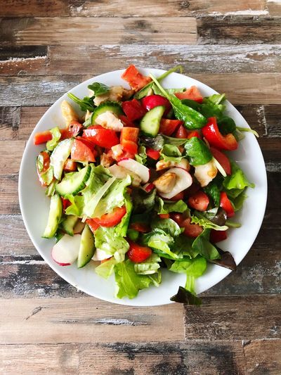 Salat Food And Drink Food Healthy Eating Wellbeing Freshness Fruit Still Life Salad Vegetable