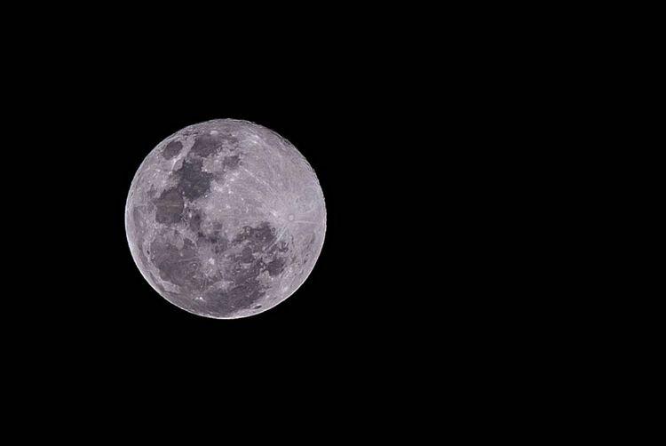 Súper luna. Caracas, 19/02/2019 Geometric Shapes Supermoon Night Moon Night Sky Moon Surface