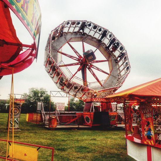 Fun fair at Stratton Bates recreation ground, Alresford, Hampshire Funfair🎡 fun fair Hampshire  New Alresford Alresford