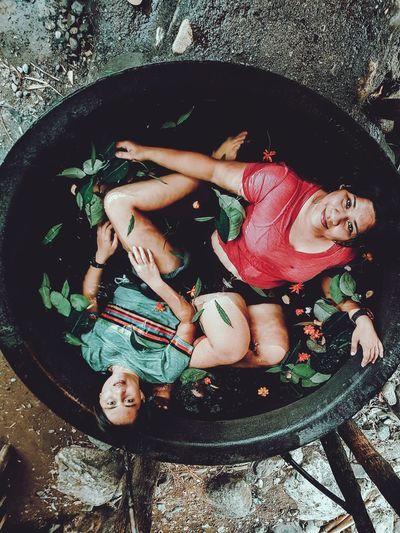 Soak in this giant wok hot bath? Because why not EyeEm Ready   Smiling Looking At Camera Portrait People Samsung Galaxy S7 Philippines Photography Samsungphotography Wanderlust Samsung Galaxy S7 Edge Travel Travel And Leisure Travel Photography Travel Destinations Vacations