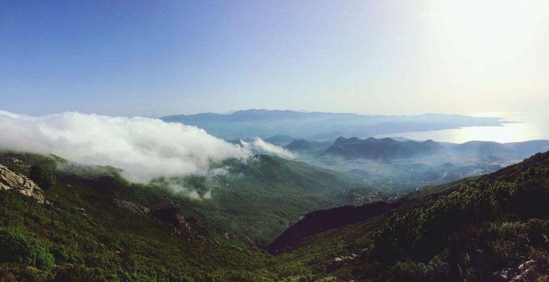 Landscape Corsica Bastia Cloud