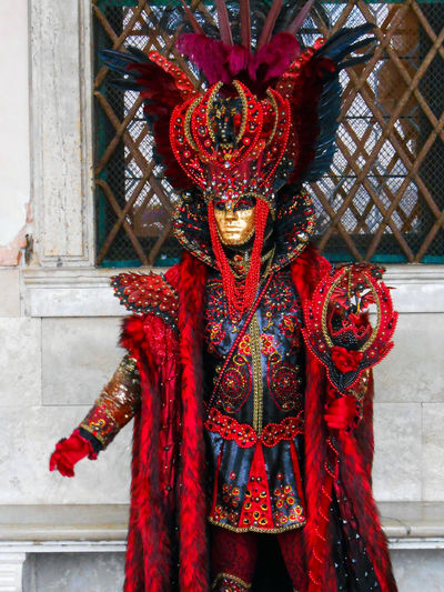 Creativity Day EyeEm Best Shots EyeEm Gallery EyeEmBestPics Mask Maskarade Ornate Red Venice Venice Carnival Venice, Italy