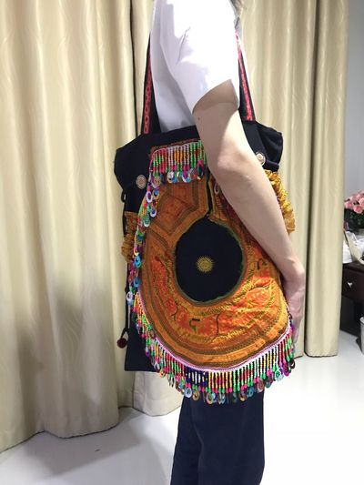 EyeEm Selects Clothing One Person Textile Indoors  Curtain Multi Colored Adult Women Art And Craft Traditional Clothing Fashion Day Craft Real People Wool Floral Pattern Pattern Dress Standing Lifestyles