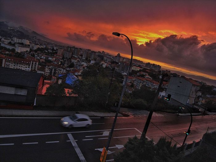 Diagonal SunSet Sunset Streetphotography Galicia, Spain Vigo, Galicia (España) #vigo #galicia #pontevedra #spain #españa First Eyeem Photo Adapted To The City