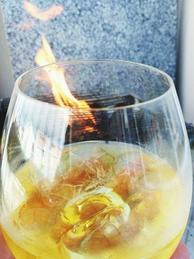 Refreshment Drink No People Heat - Temperature Burning Braai Irish Whiskey Close-up Freshness Outdoors Day