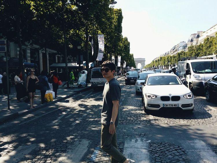 Paris, France  That's Me Street Portrait Afternoon Walk