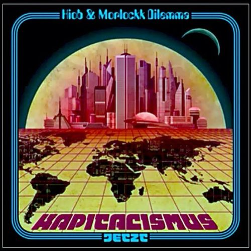 "Currently Listening To Music : Hiob & Morlockk Dilemma - "" Kapitalismus Jetzt "" | German Rap  / German Hip Hop | Vinyl | Cover Art"