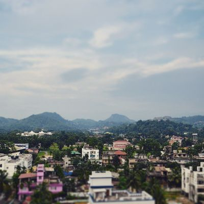 The place that gave me birth and helped me complete my graduation. Leaving it will be again heartbreaking... sob sob :( Guwahati Tiltshift Surreal Skylineofghy :P