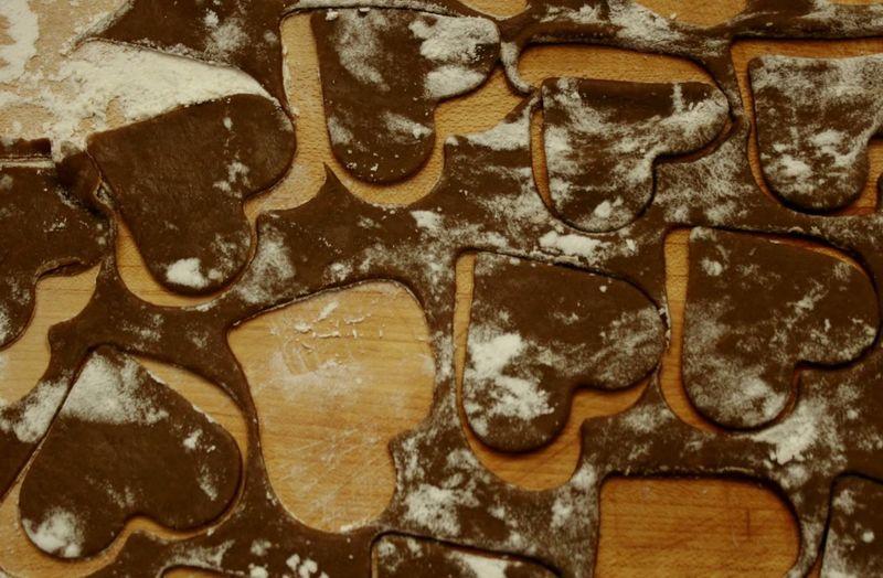 Cookies Kekse Kekse Backen Heart And Soul Herzchen Backen Bakery Bakerylove In Love Herzlich Sweet Food Food And Drink Kitchen Art Küchenzauber Still Life Pattern, Texture, Shape And Form