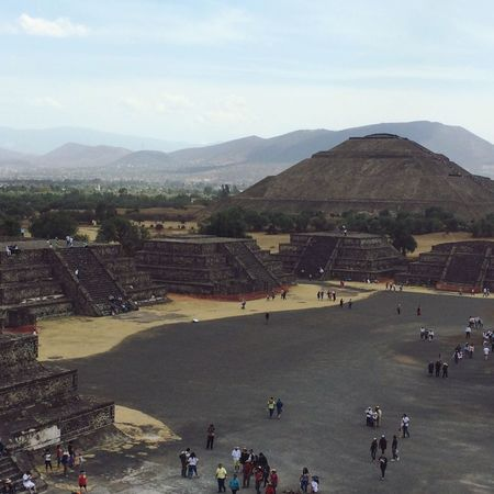 Outdoors Architecture Piramide Architecture Teotihuacan Mexico Travel Destinations Scenics Piramide Del Sol