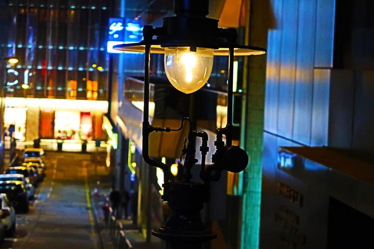 Gas Lamps No