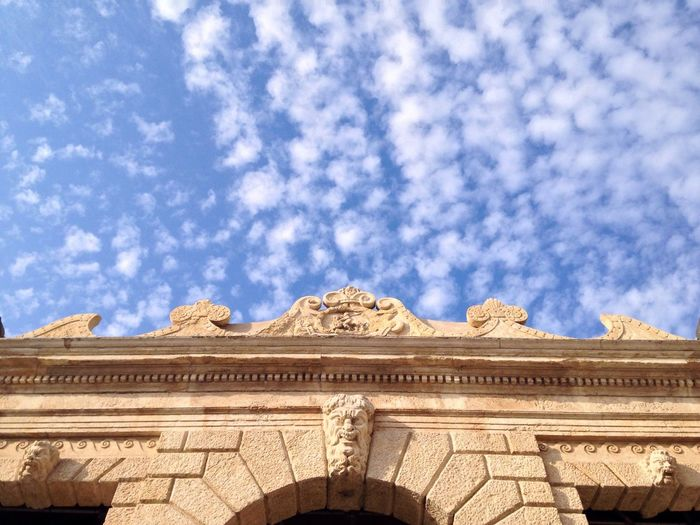 9/365 One Year Project 2017 Architecture Built Structure Building Exterior Low Angle View Sky No People Day Outdoors Cloud - Sky Pediment Nature January 9 Day 9