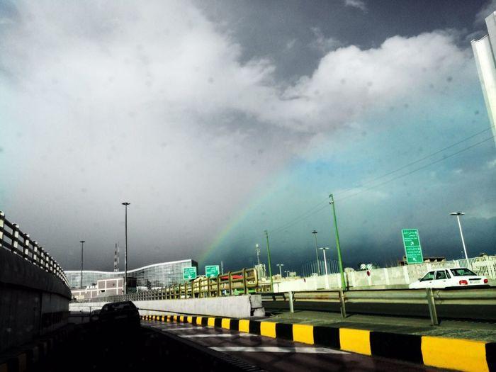Rainbow Sky PouriaNaseri©