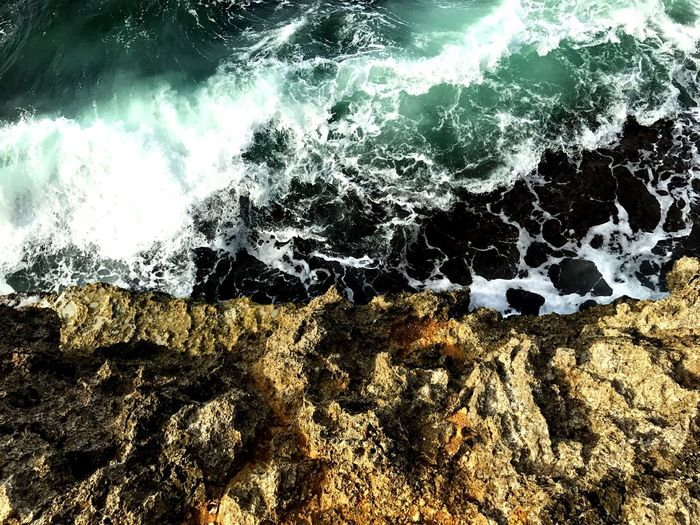 Sea Wave Water Motion Nature No People Day Outdoors Beauty In Nature Rock - Object Power In Nature Beach Close-up EyeEm Best Shots Puerto Viejo Costarica Costa Rica Women Travel EyeEm Gallery Patterns The Great Outdoors - 2017 EyeEm Awards
