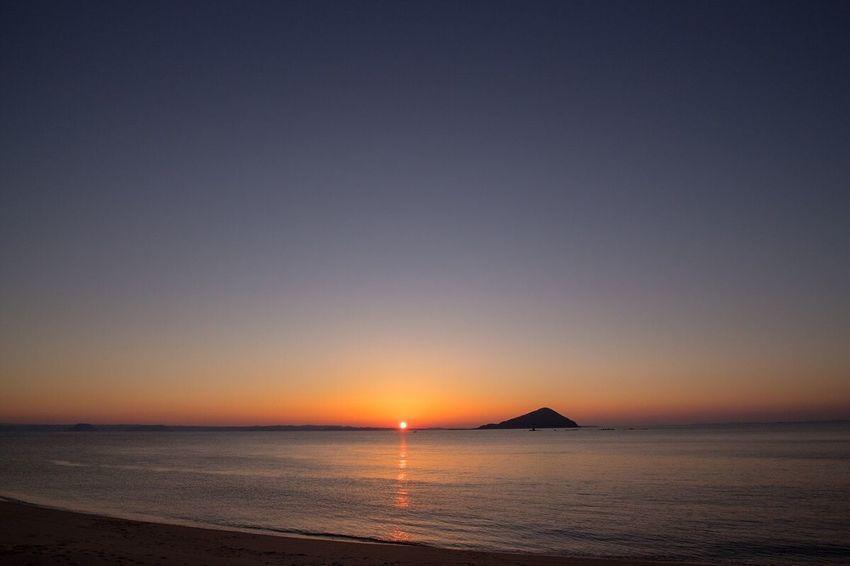 花粉に苦しめられる今日この頃… February 2017 Sunset Sunset_collection Sea Beach Magichour Thank You Today Seascape Itoshima Fukuoka Fukuoka,Japan