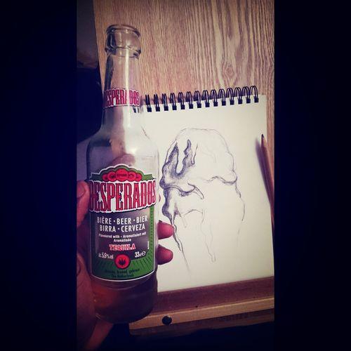 Desperados Drawing Icecream CHILLINOUT