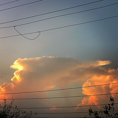 Those  Electricity  Wires Coudnt Stopme Clicking That  Mesmerizing View Instaludhiana After Sunset Gagans_photography