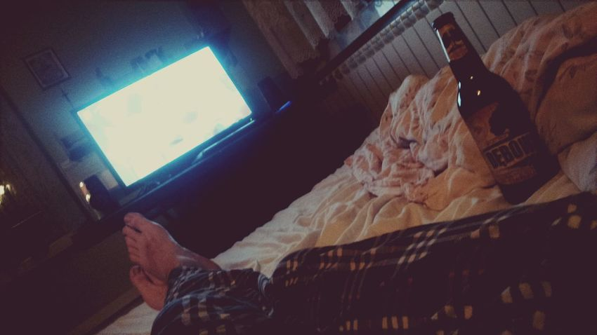 Beer, Watching Tv, Chilling Relax , That's Me