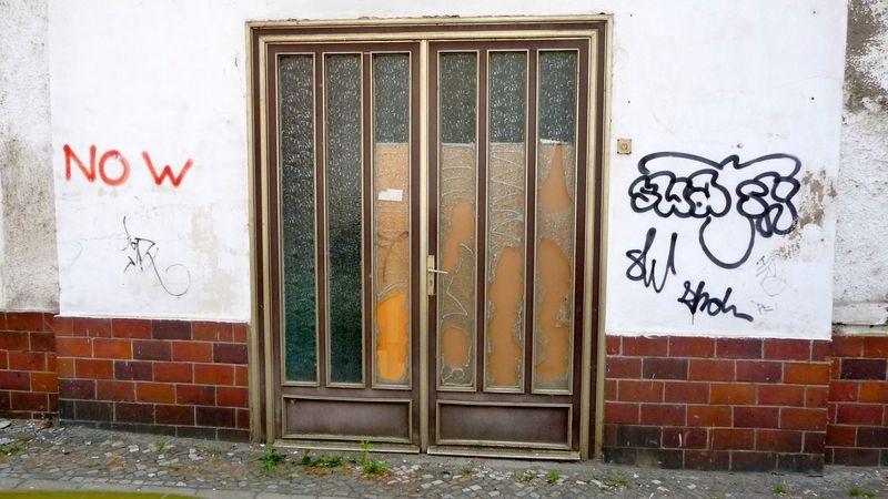 Bad Condition Brandenburg Broken Close Up Damaged Design Destroyed Deutschland Door GERMANY🇩🇪DEUTSCHERLAND@ No People Ruins Runine Simplicity Symbol Symmetry Tu Verfall Zerstörtes Haus