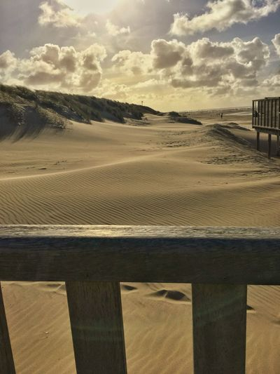 Beach Sand Nature Sky Sea Landscape Outdoors Water Cloud - Sky Sand Dune Day Tranquility No People Scenics Beauty In Nature