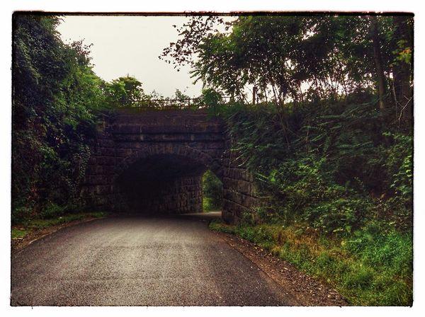 IPadography Ink361 Pennsylvania Tunnel Railway Bridge Railroad Backroads