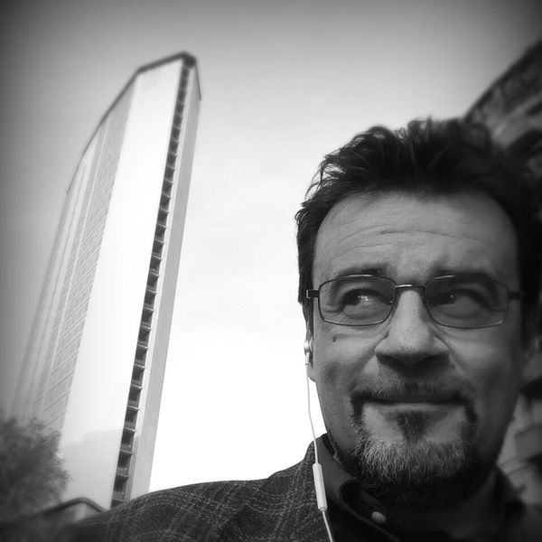 Urban Geometry Selfie That's Me Walking Around