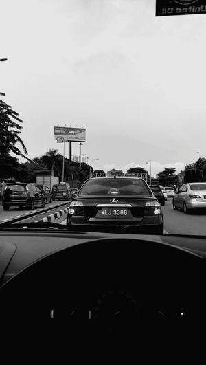 Monochrome Photography Traffic Jam Penang Fuckthisshit First Eyeem Photo