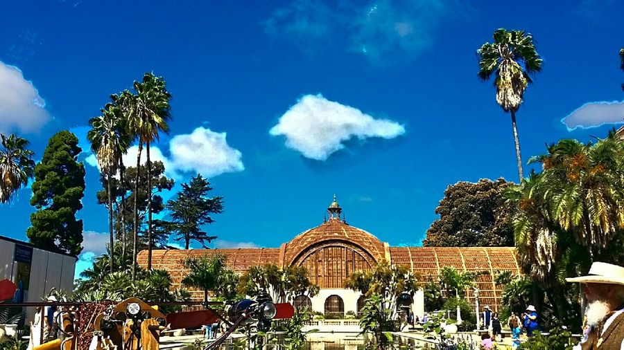 And another one! Balboa Park Sandiego EyeEm Nature Lover Getting Inspired Beautiful Nature Beautifulcity Cloudporn Skyporn Since1887 Amazing View