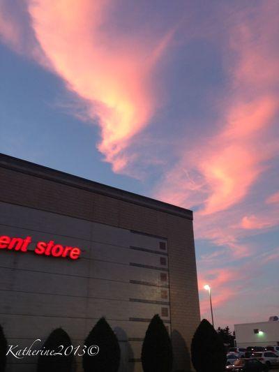 Skyporn Sky_collection Sunset #sun #clouds #skylovers #sky #nature #beautifulinnature #naturalbeauty #photography #landscape