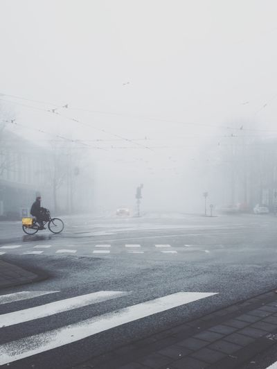Amsterdam VSCO VSCO Cam Vscogood Vscocam Fog Foggy Morning Bike Bike Ride Skrwt Celebrate Your Ride