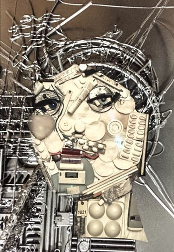 Technomunculus... Photographic Approximation Hooked On The Feed Forgotten Dreams New Nightmares Facial Experiments Escape From Reality