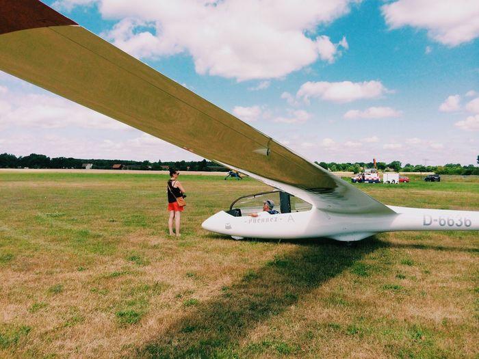 Ok, let's do this! Sky Gliding