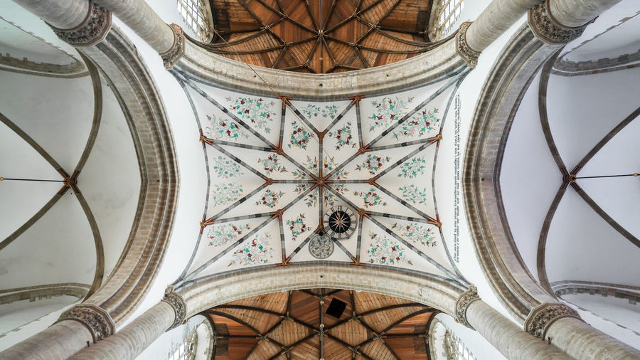 The Crossing Architecture Built Structure Ceiling Church Details Dutch Dutch Cities Form Gothic Gothic Architecture Gothic Style Haarlem History Holland Indoors  Low Angle View Nederland Netherlands No People Ornate Pattern Shape Symmetrical Symmetry Travel Destinations
