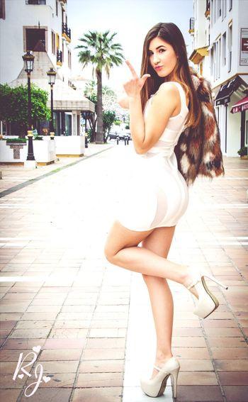 Modeling EyeEm Best Shots Dangerous Dress Model FUENGIROLA  Colourful Popular Girl Hardwork