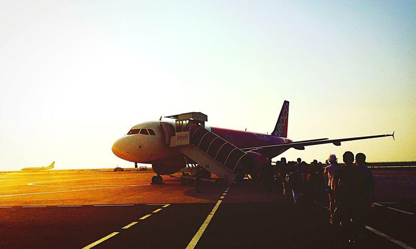 Airport Airplane Japan Okinawa Sky EyeEm Sunset EyeEm Nature Lover Traveling