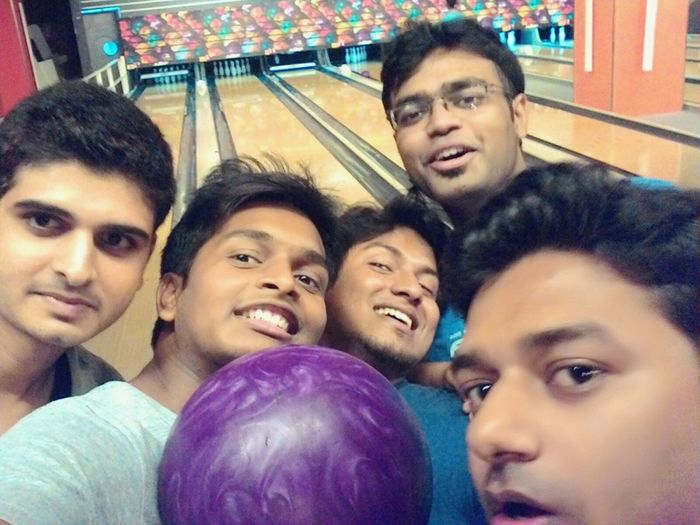 Bowling Frndsforever FuntymPose Collegefriends Reunited  Selfie ✌ AsusZenfone5Photography