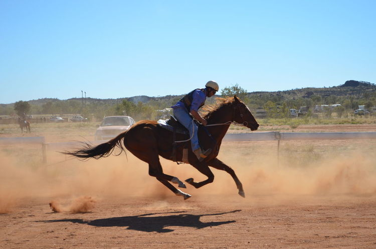 Captured in the spur of the moment... Dust Framing Horses Moment Perfect Photography Races Rodeo
