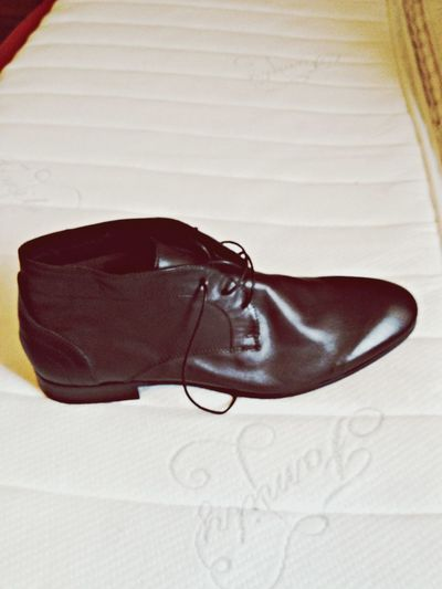 Shoes Leatherboots Leather Brown You like my Leather shoes ? <3