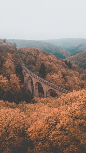 Train Viadukt Wonderful Place Travel Beautifuldestinations Drone  Wanderlust Landmark Trip Discovery Discover  Fromwhereidrone Bridge Bridge - Man Made Structure Connection Sky Nature Transportation No People Architecture Plant Beauty In Nature Built Structure Arch Scenics - Nature Day Environment Clear Sky Landscape Tree Arch Bridge Copy Space