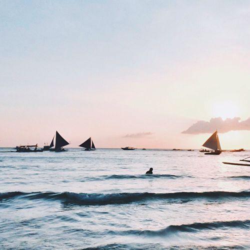 Boracay, Philippines Boracay Boracay Island  Boracay Sunset Sunset Sunset View. BoracaySunset