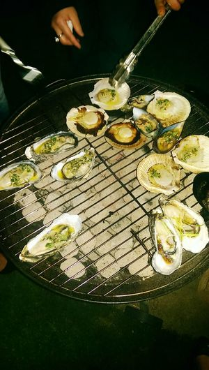 What's For Dinner? BBQ Scollop Oysters