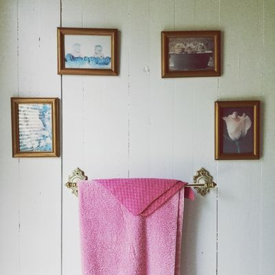Old Vintage Pink Wall - Building Feature Architecture No People Built Structure Indoors  Window Art And Craft Creativity Home Interior Picture Frame