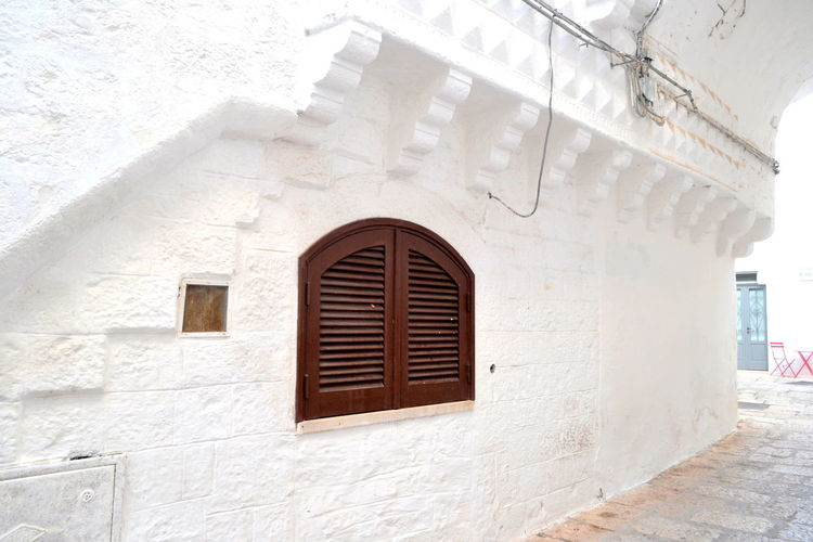 Architecture Architecture_collection Cisternino Lecce Puglia Architecture Building Exterior Built Structure Day No People Outdoors Outside Simplicity Streetphotography Village White White Background Whitewashed Window Windows