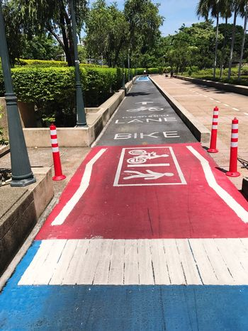 Crossing Outdoors Bicycle Track ThaiLocal EyeEm Thailand No Filter Cyclist Lifestyles