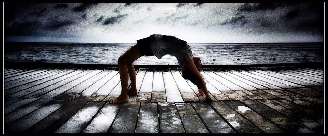 me, myself and my upside down world....