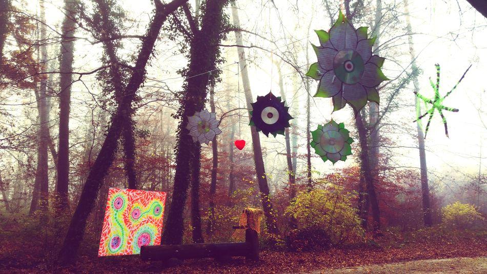 Trippyart Nature Hippie Partydecorations Psychedelicart